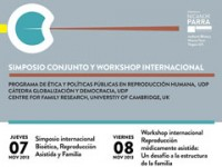 Simposio internacional buscará responder a interrogantes sobre reproducción humana, ética y familia
