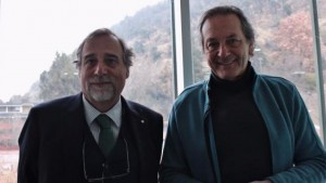 Doctores Mauricio Beso y Fernando Zegers / Foto Tele13 Radio